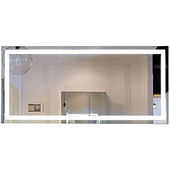 Amazon Com Decoraport 60 Inch 28 Inch Horizontal Led Wall