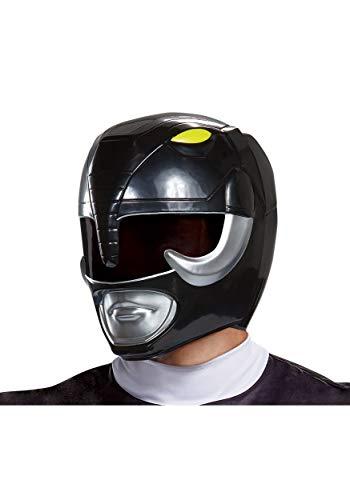 Disguise Men's Black Ranger Adult Helmet, One Size -