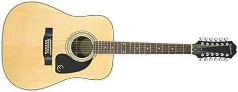 Epiphone DR-212 - Guitarras acústicas con cuerdas metálicas, color ...