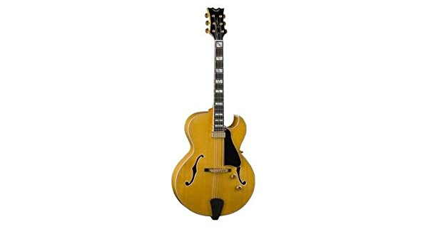 Dean Palomino solo guitarra Jazz semiacústica antigua natural ...
