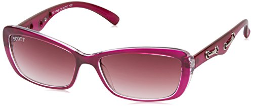 Scott Rectangular Sunglasses (Purple) (SC-1749-C3 55)