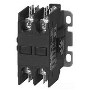 Eaton / Cutler Hammer C25BNF230T Non-Reversing Definite Purpose Contactor 2-Pole 24 Volt AC At 50/60 Hz Coil 30 Amp Inductive Full Load from Eaton Cutler-Hammer