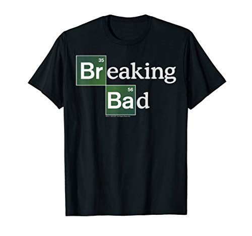 Breaking Bad Periodic Square Logo T-Shirt (Breaking Bad Women Tshirt)