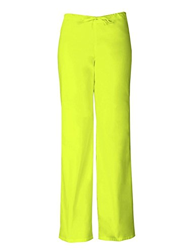 Everyday Scrubs Signature By Dickies Unisex Drawstring Pant Xx-Large Lime Punch