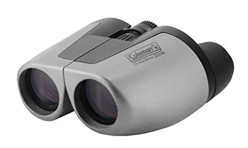 Coleman 15-50x28 Compact Zoom Binoculars, Silver