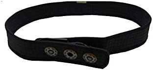 NOGRAD Aerobelt full black Neopren Gürtel Ideal als leichter Sport-Gürtel