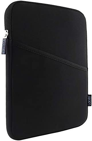 Lacdo Tablet Sleeve Case for 10.2 inch New IPad / 10.9 inch New IPad Air 4 / 11 10.5 inch New IPad Pro / 9.7 IPad/ IPad Air 3 2, Samsung Galaxy Tab 10.1 Protective Bag, Fit Apple Smart Keyboard, Black