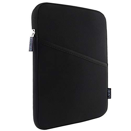 iPad Mini Case, iPad Mini 5 Sleeve, Lacdo Shockproof Tablet Sleeve Compatible iPad Mini 5,4,3,2 / Samsung Galaxy Tab A 8-Inch / ASUS ZenPad Protective Bag, Black/Black