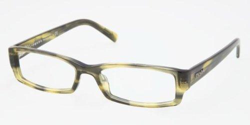 20cbf5c1885 Designer Glasses Frame PRADA PR19LV CAMO   BLANK LENS (PR  19LV-ZWZ1O1-52-16-135)  Amazon.co.uk  Clothing
