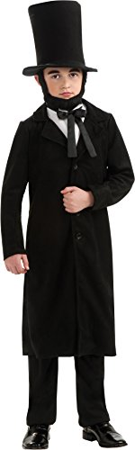 Rubie's Child's Deluxe Abraham Lincoln Costume, Medium
