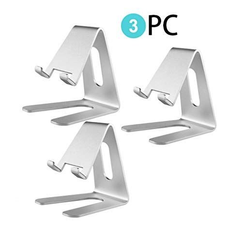 JinJin Stylish Aluminum Tablet Stand, Cell Phone Stand, Tablet Stand Holders, Cell Phone Stands, iPhone Stand, iPad Pro Stand, iPad Mini Stands and (3pcs)