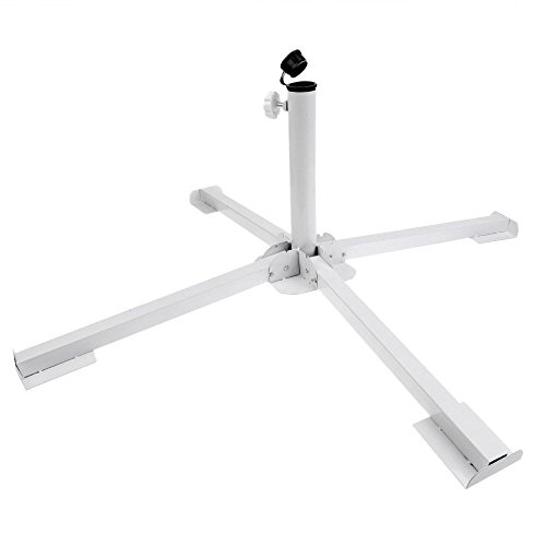 Beach Stand - Diyking Portable Foldable Beach Stand - Outdoor Sunshade Anchor - Adjustable Patio Umbrella Base Holder