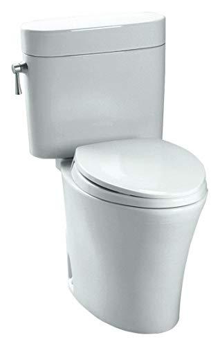 - TOTO Eco Nexus Two Piece Tank Toilet, 1.28 Gallons per Flush, Cotton