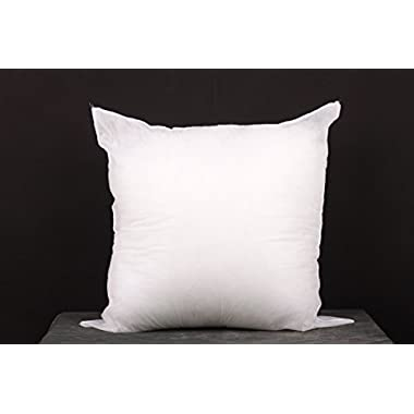 16 x16  Square Pillow Insert for Sham or Decorative pillow Made in USA (Perfect for 16 x16  cover)