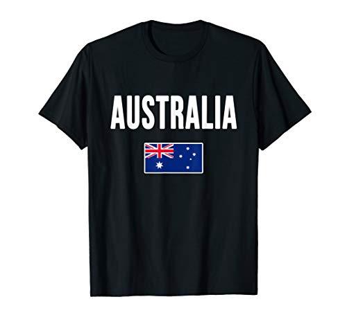 Australia T-shirt Australian Flag Gift Souvenir Love