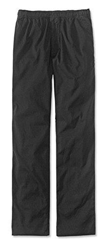 Orvis Men's Bush Poplin Drawstring Pants, Black, 40W X 34L Mens Bush Poplin