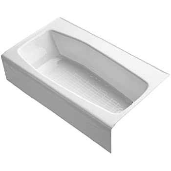 Kohler K 714 0 Villager Bath With 4 Inch Ledge And Right