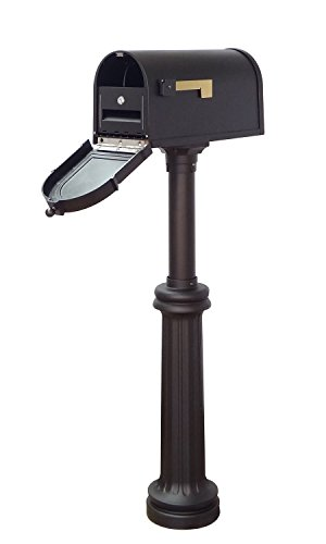 Special Lite Products Company Berkshire Curbside Mailbox With Locking Insert And Bradford Mailbox ()