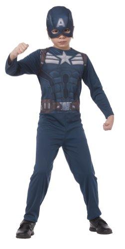 Captain America Super Soldier Game Costumes - Marvel Captain America: The Winter Soldier Stealth Suit Costume Set