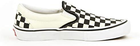 スリッポン 正規販売店 メンズ VANS シューズ VANS SLIP-ON PRO (CHECKERBOARD) BLACK/WHITE VN0A347VAPK (コード:4141403364)