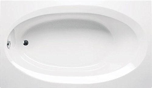 Americh BE6042BA3-WH Bel Air 6042-Builders Series-Airbath 3 Combo Tub, White