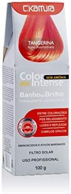 Tonalizante Hidratante Banho de Brilho Tangerina, C.Kamura, 100 ml
