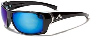 Arctic Blue ® occhiali da sole–Sci/sport/running unisex Model–New UV400lenti protetto–antiriflesso Bluetech lenti, Deluxe Line (With Case)