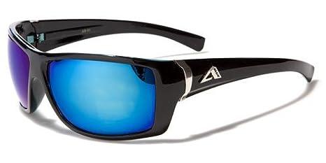 Arctic Blue Unisexe Lunettes de soleil–Sport–Cyclisme–Ski–La Course–Conduite (Bluetech Lense Technologie) B0Y8M8oyy