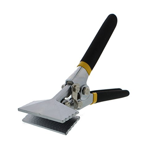 "(ABN 3"" Inch Straight Metal Hand Seamer – For Bending and Flattening Sheet)"
