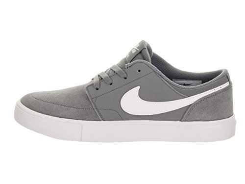 Zapatillas De Skate Nike Kids Sb Portmore Ii (gs) Gris