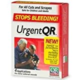 Product review for Urgent QR Kit Stops Bleeding! Size: 2 APPLIC [Health and Beauty]