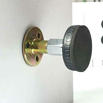 Teleskop-Unterst/ützung f/ür Raumwand Farrom Bettgestell mit verstellbarem Gewinde Anti-Sch/üttel-Werkzeug 33-44mm Schwarz