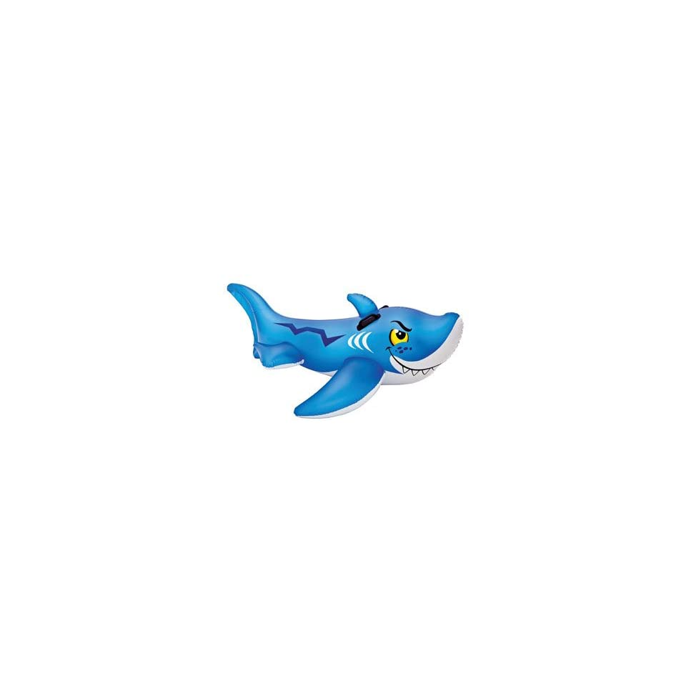 Intex 56567EP Inflatable Friendly Shark Ride on Swimming Pool Toy 60.5x41