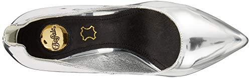 Buffalo De Silver Zapatos Tacón Gris Ana Para 000 Mujer mirror PPqCxg1E