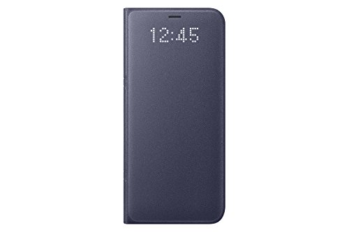 Samsung Galaxy S8 LED View Wallet Case, Orchid Grey