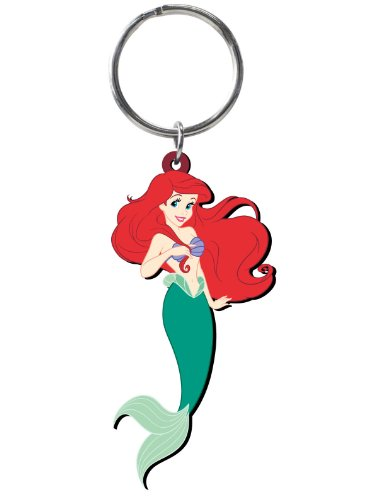 Disney Ariel Soft Touch PVC Key Ring -