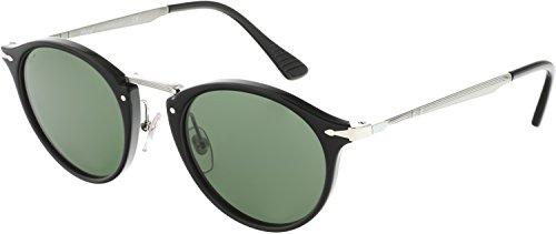 Persol PO3166S Sunglasses 95/31-49 - Black Frame, Green - Five Sunglasses Nine
