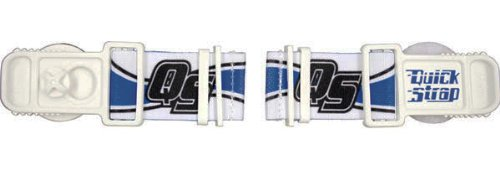 Roko Sports Goggle Quick Strap (White/Black/Blue) by Roko Sports