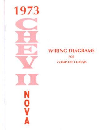 Awesome Amazon Com 1973 Chevrolet Nova Wiring Diagrams Schematics Automotive Wiring 101 Cabaharperaodorg