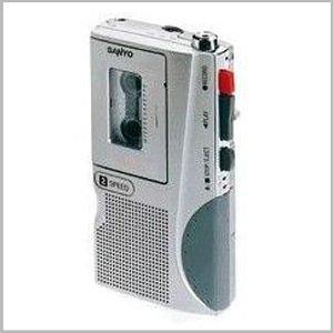 Sanyo TRC 530m Micro cassetta Registratore vocale