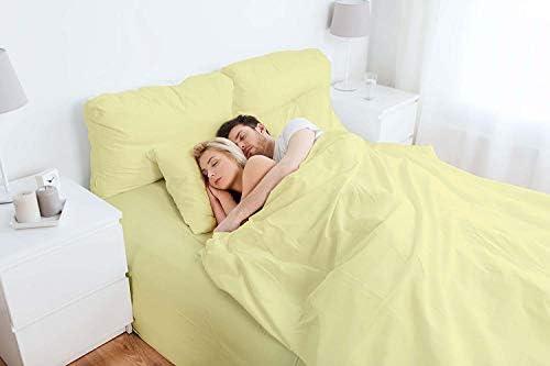 AMERICH EMPIRE 400 TC - Juego de sábanas de algodón Egipcio de 4 ...