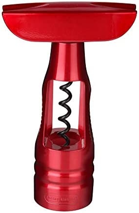 Fackelmann 49727-SACACORCHOS SIN Fin Grandcru, Rojo Metalizado, Centimeters