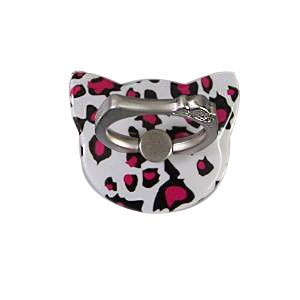 JBC LINK Bunker Ring Cartoon Car Ring Bracket, Bracket Universal Phone Holder Lazy Bracket. (Leopard (Lazy Leopard)