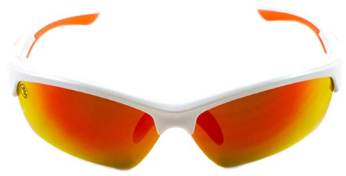 Athletes Insight Sports Performance Sunglasses for Men and Women - UV400 Shatter Resistant Lightweight Sunglasses For Running, Cycling, Golf, Fishing, Baseball