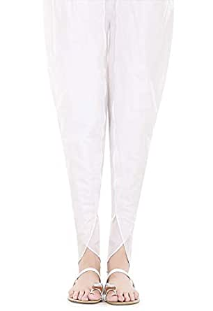 crossstitch White Harem Trousers Pant For Women