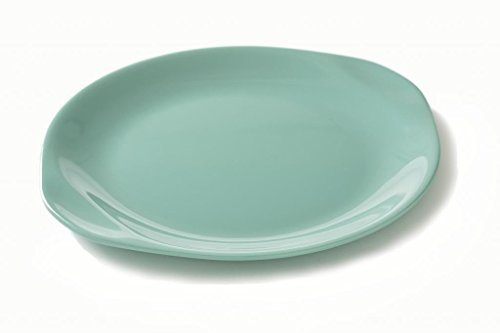 Russel Wright Residential Collection Dinner Plate - Aqua