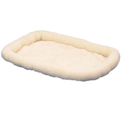 Bolster Pad - Precision Pet SnooZZy Original Fleece Crate Donut Dog Bed Size: Extra Small (18