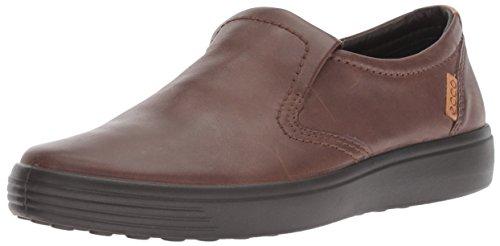 ECCO Men's Soft 7 Slip-on Sneaker, Cocoa Brown, 44 M EU (10-10.5 US) -