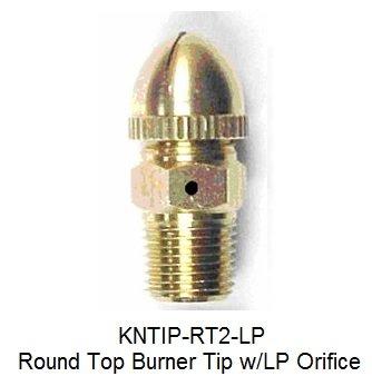 (Round Top Burner Tip/Jet for Gas Light - Propane Orifice)