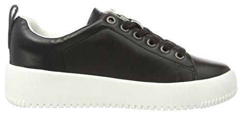 Zapatillas Nappa Mujer Dalila Klein Negro Calvin Para black Soft CI4wpnttq